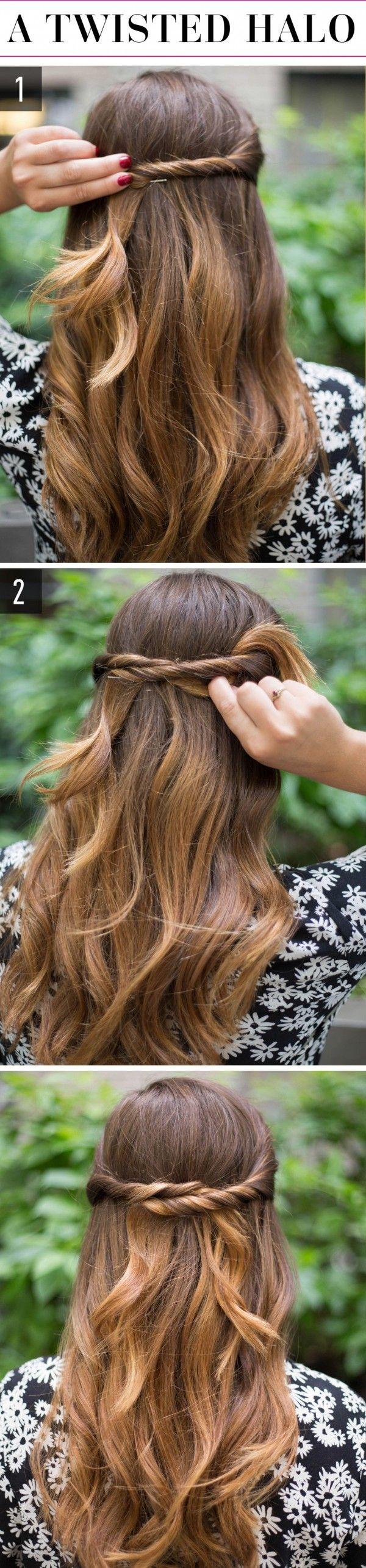 10 Sencillos peinados que te dejarán lista para recibir el año