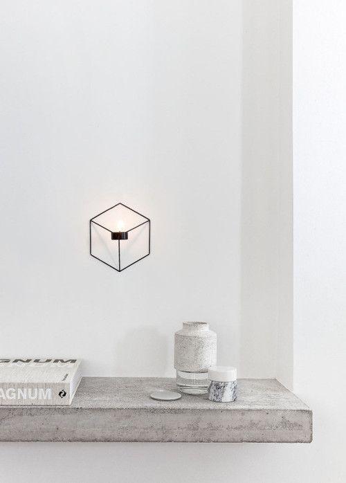 light cube home design pinterest kerzen einrichtung und deko. Black Bedroom Furniture Sets. Home Design Ideas
