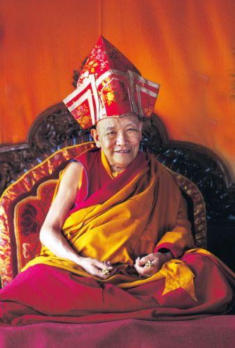 Kyabje Trulshik Rinpoche - master of the Nyingma tradition of Tibetan Buddhism