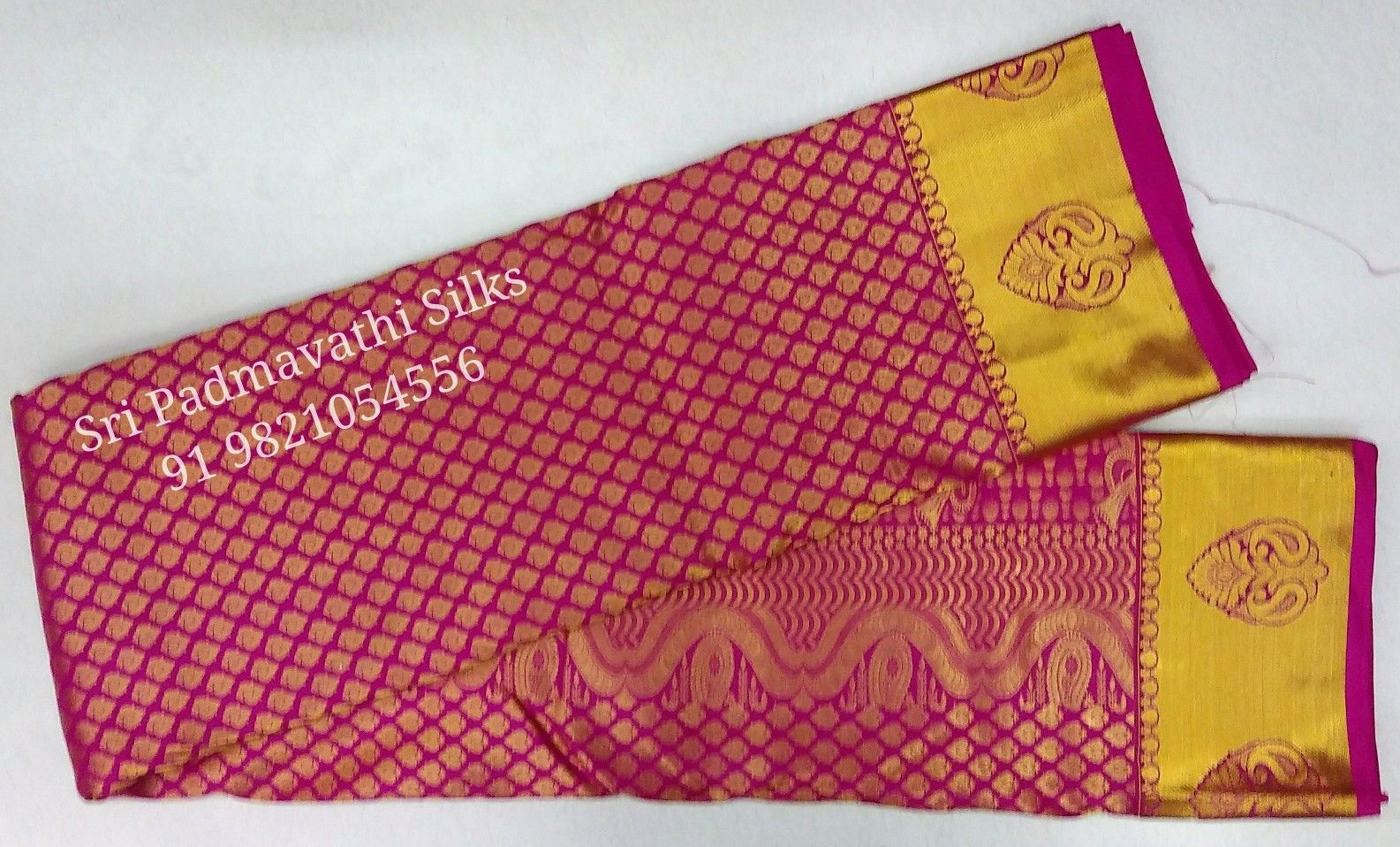 Pink It Up With Kancheepuram Handloom Pure Silk Bridal Brocade Sarees On Your Special Day G Wedding Acceptance Card Wedding Cards Printing Wedding Invitations