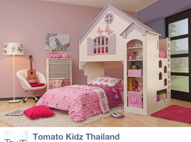 doll house bed for my girl toddler bunk beds kid beds kids bunk beds. Black Bedroom Furniture Sets. Home Design Ideas