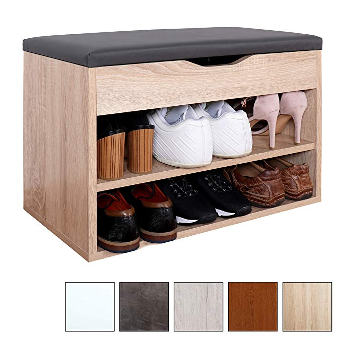 banc armoire avec siege coussin pouf