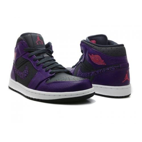 factory authentic e611c cd8bf Air Jordan 1 Phat Club Purple Anthracite Club Purple Spark 364770-025   Purple  Womens  Sneakers