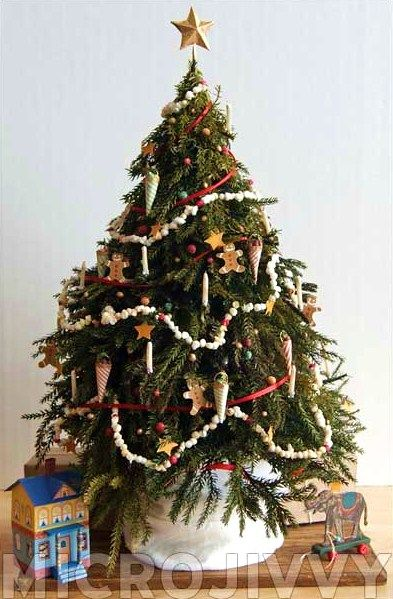 1 12 Scale Victorian Christmas Tree Victorian Christmas Tree Victorian Christmas Dollhouse Holiday