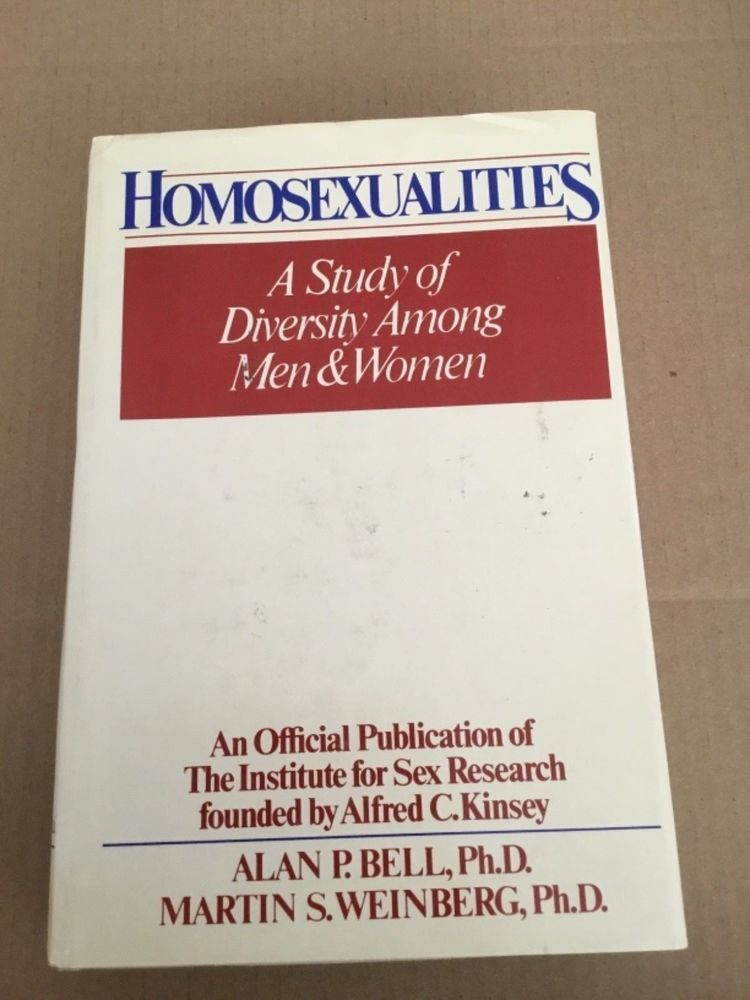 Homosexualities a study of diversity