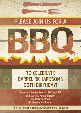 Flaming hot rustic vintage barbeque invitation customize it and flaming hot rustic vintage barbeque invitation customize it and show your friends the true meaning stopboris Choice Image