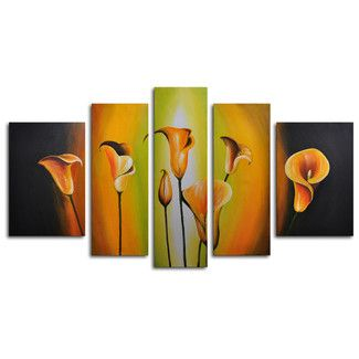 Found it at Wayfair - My Art Outlet Lilies By Evening Light 5 Piece Original Painting on Canvas Sethttp://www.wayfair.com/My-Art-Outlet-Lilies-By-Evening-Light-5-Piece-Original-Painting-on-Canvas-Set-M-2124-KYQ1070.html?refid=SBP.rBAZEVTrg0SigBhZz56DAg75yEdSXE0XjNInERig_mY