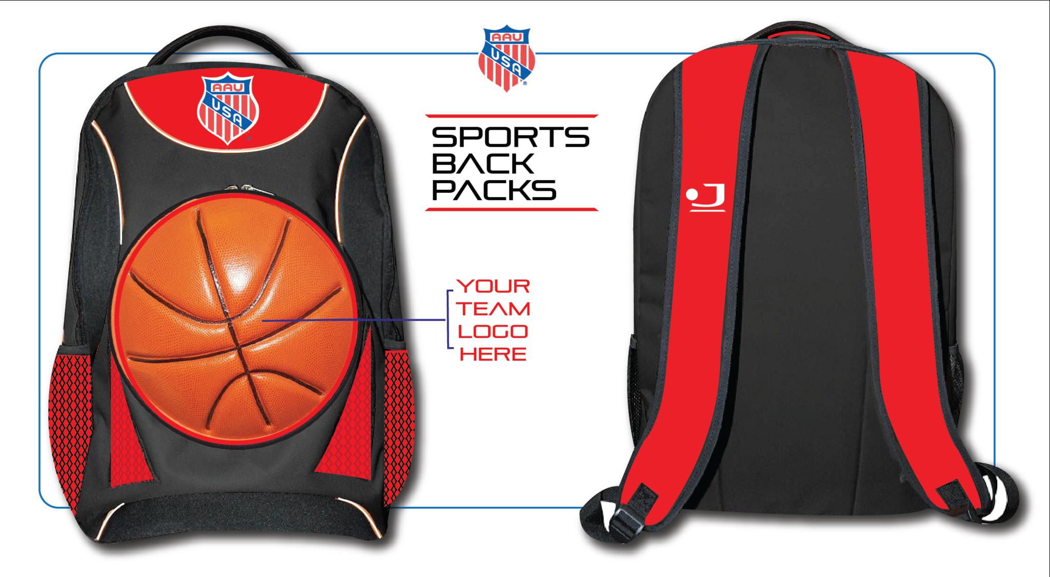 best selection of drop shipping terrific value AAU Backpack Interchangeable Basketball | BKBaller ...
