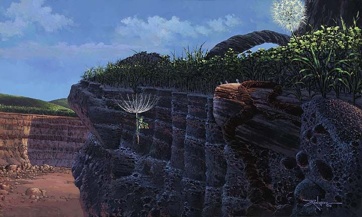 """Flying on the Breeze""by Rodel Gonzalez"