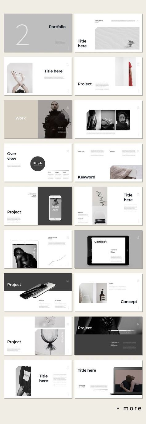Simple p powerpoint template layouts template and ppt design awesome simple portfolio presentation template minimal presentation ppt template portfolio toneelgroepblik Gallery