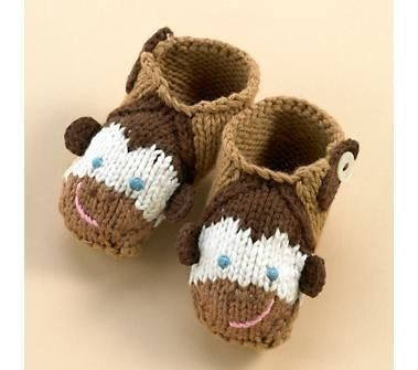 Adorable! Monkey slippers