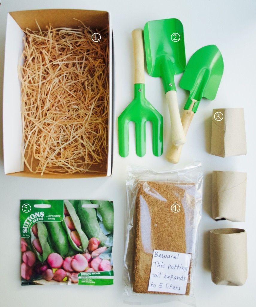 Make Your Own Kids Gardening Kit 화분 아이디어 테라리움