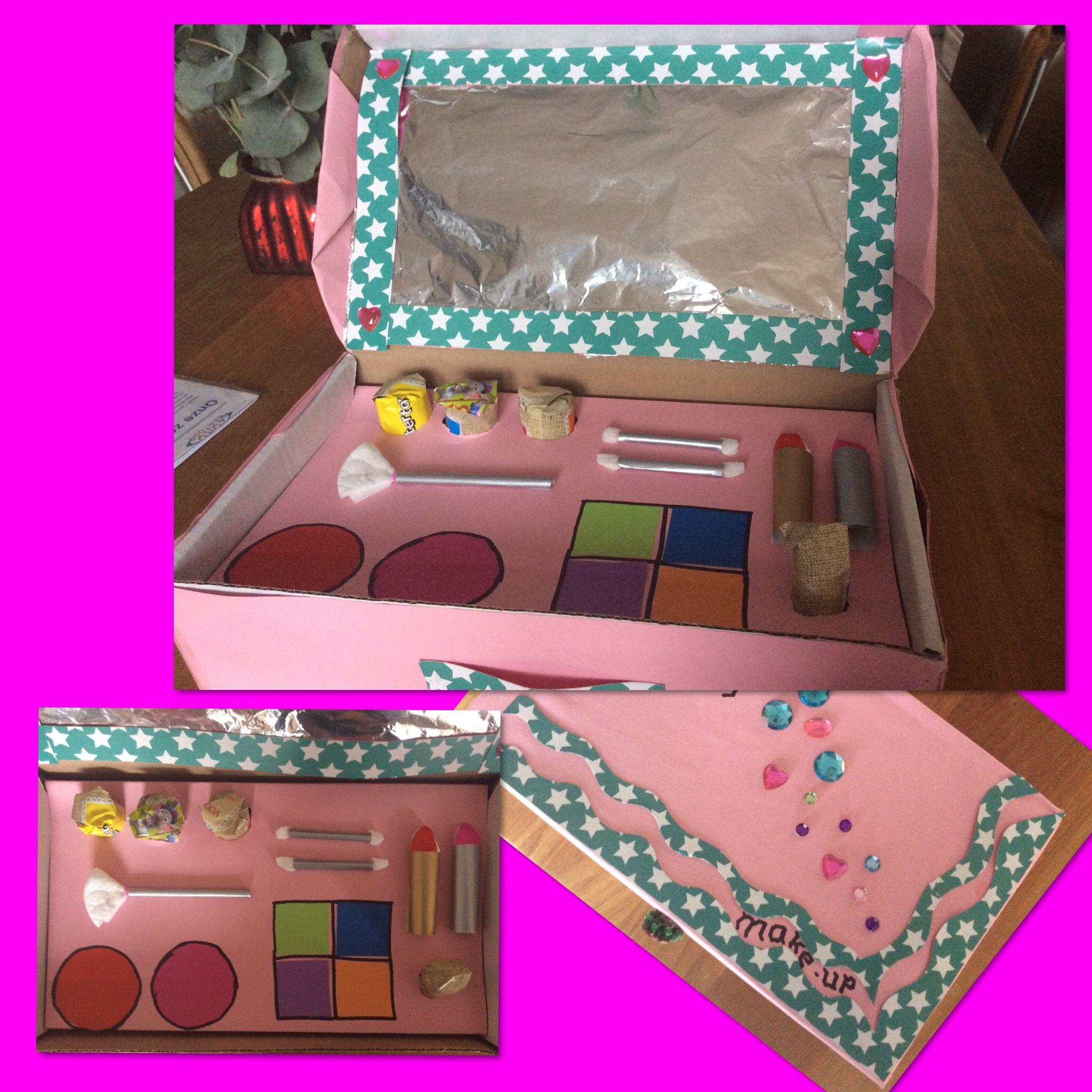 simpele maar leuke make up doos voor een meisje