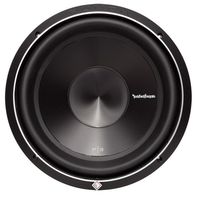 """Rockford Fosgate Punch Series 12"""" DVC (2ohm) 1200w Max Subwoofer"""
