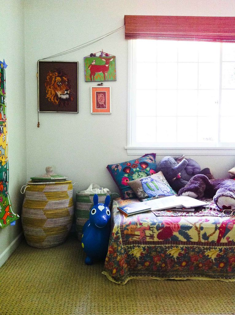 Bohemian decor is perfect for kidsu0027 rooms