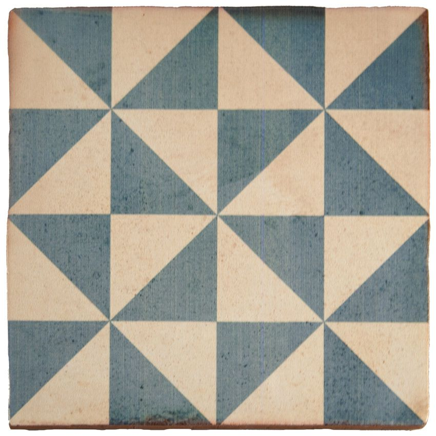 Carrelage imitation carreau ciment sol et mur 20 x 20 cm - VI0203007 ...