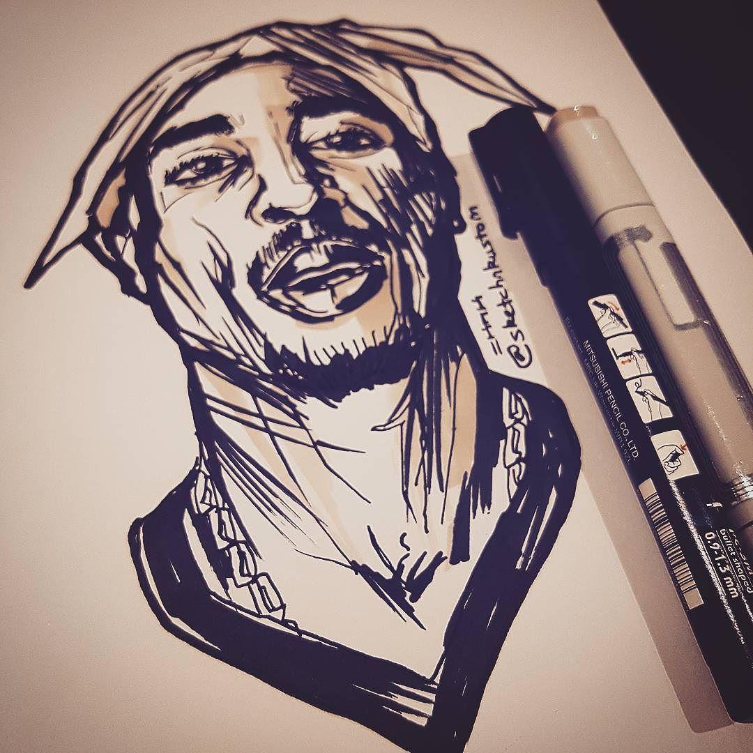 tupac | Search Results | sketchNkustom Design