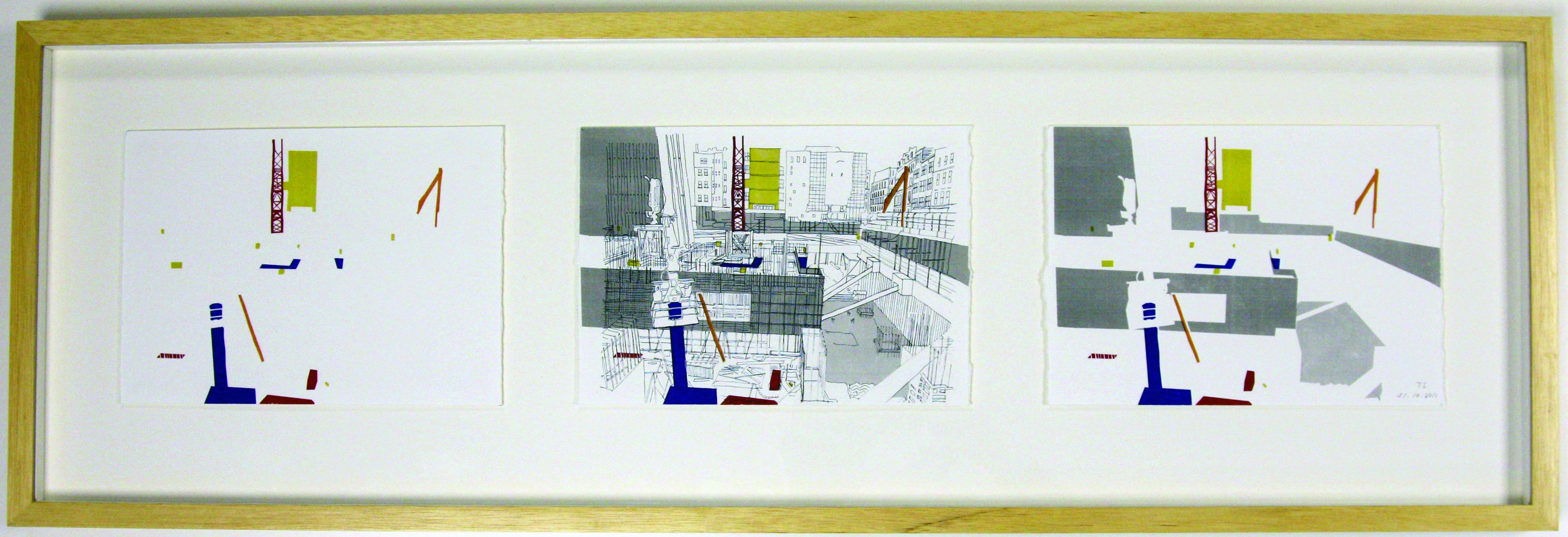 By Takero Shimazaki for 10x10 London Drawing the City 2011
