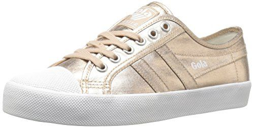 Gola Womens Coaster Metallic Fashion Sneaker Rose GoldRose Gold 7 M US **  Click affiliate