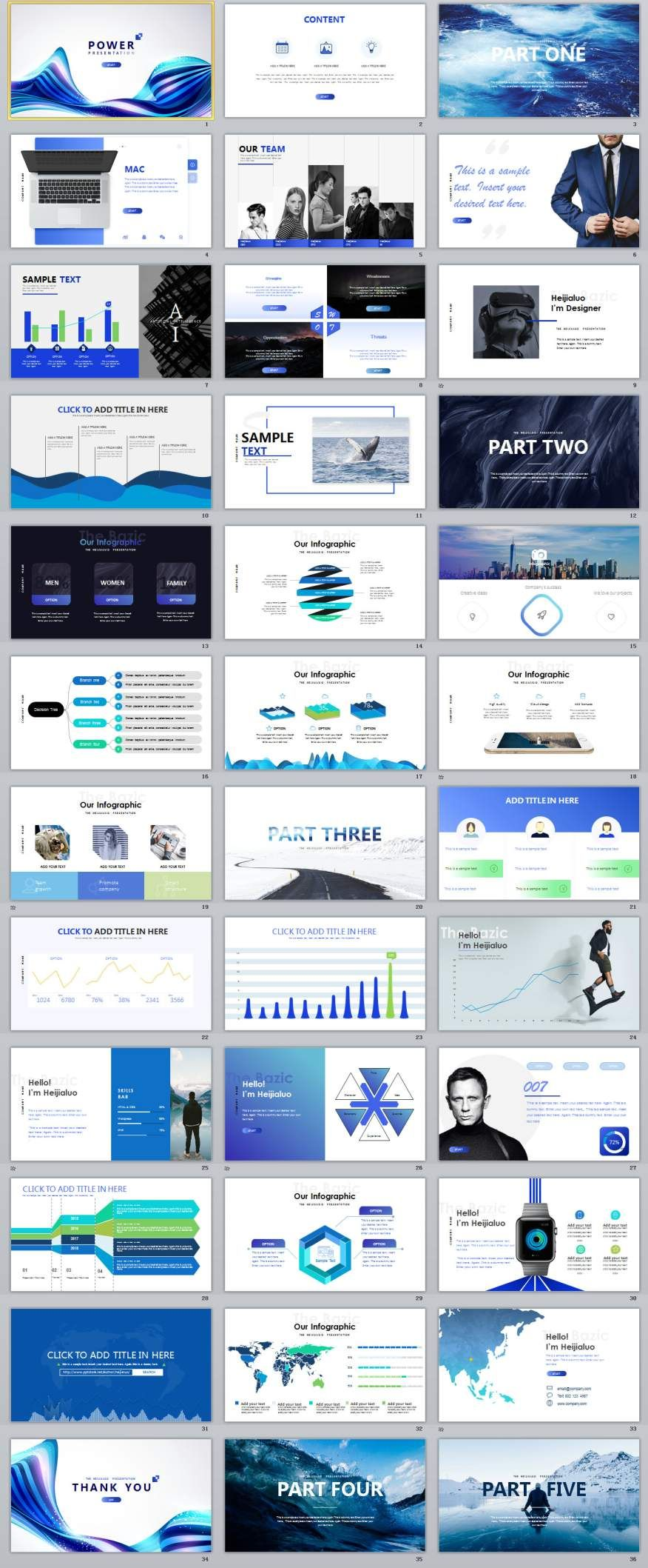Tech Mobile Powerpoint Presentations Template   Business