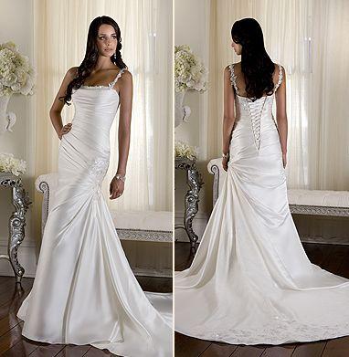Mermaid Wedding Dress by | Wedding dress, Weddings and Wedding stuff