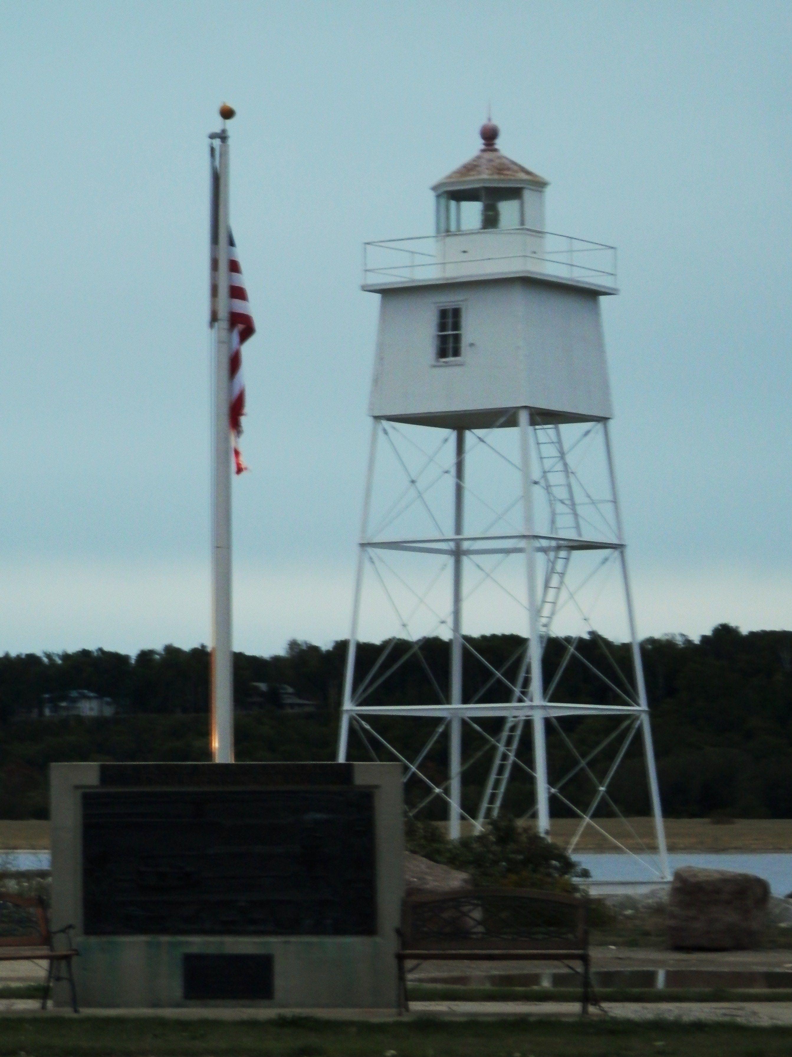 Grand Marais Inner Harbor Light Station