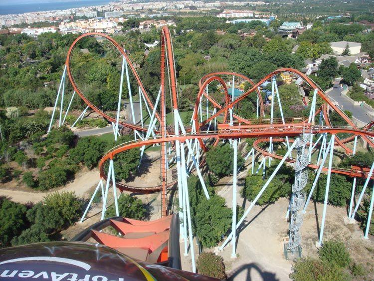 Dragon Khan Portaventura Spain Best Amusement Parks Places To Go Amusement Park