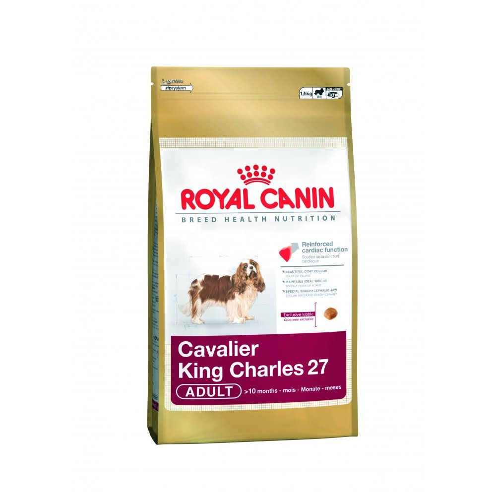 Royal Canin Breed Diet Cavalier King Charles Spaniel 27 Dog Food