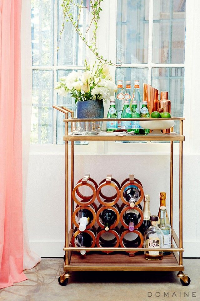 These Gorgeous Home Bars Have Us Ready For The Weekend Via Mydomaine