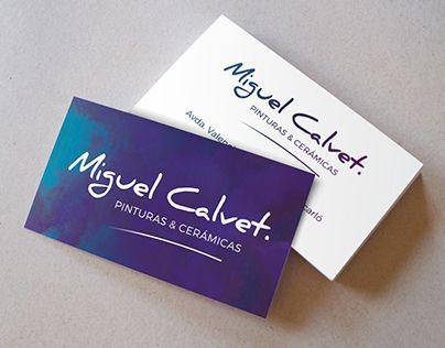 Business card personal branding miguel calvet color combos business card personal branding miguel calvet personal brandingcolor combosbusiness reheart Choice Image