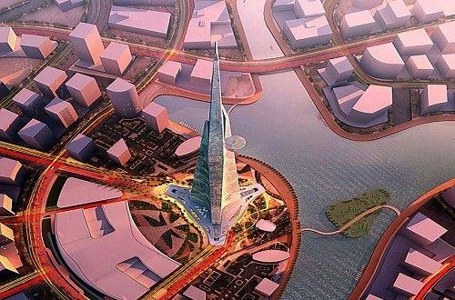 صور مشروع برج المملكة الذى سيكون اعلى من برج الخليفة ست البيتست البيت Aerial City Photo Photo