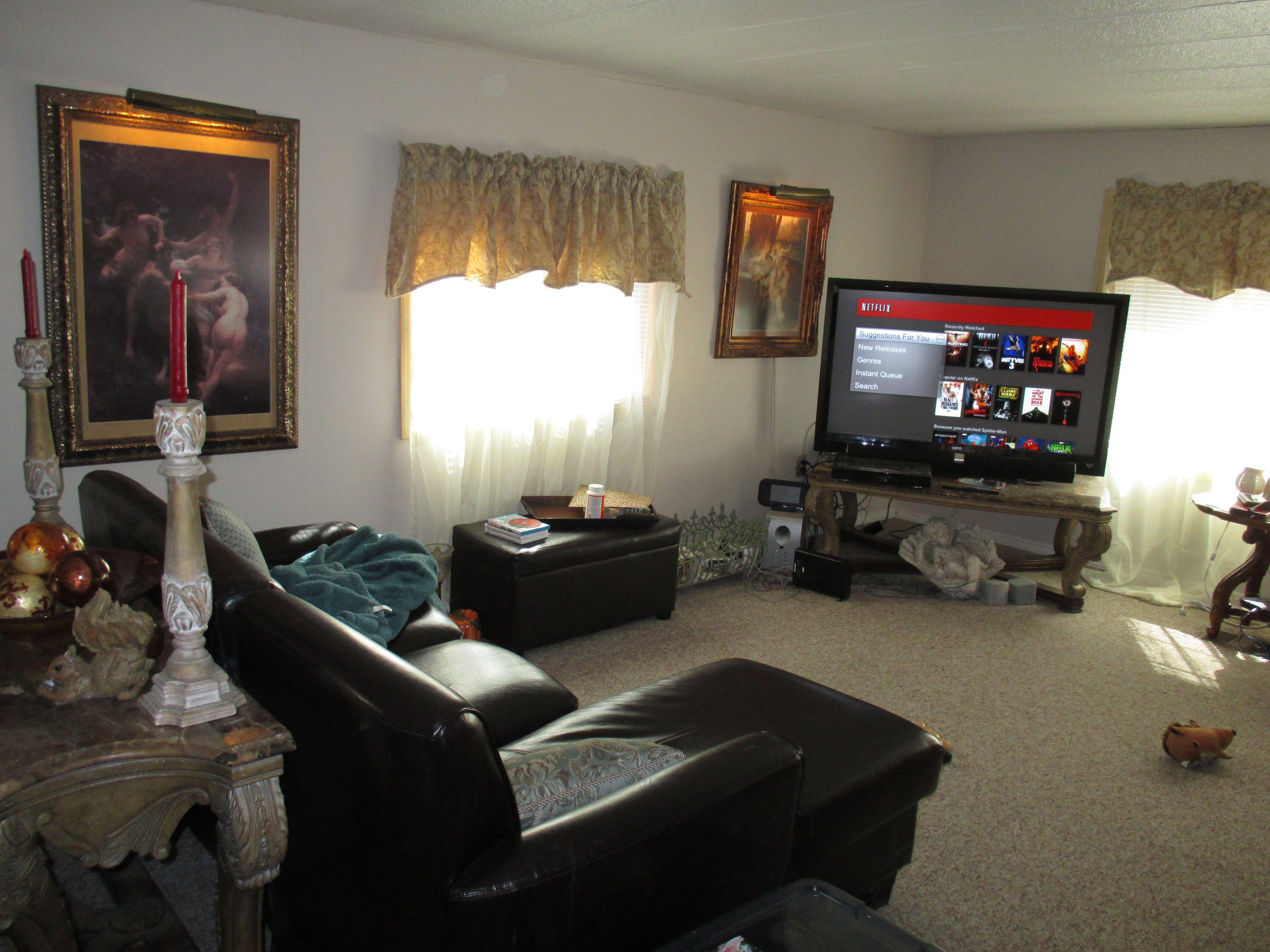 Mobile home living room   Living Rooms   Pinterest