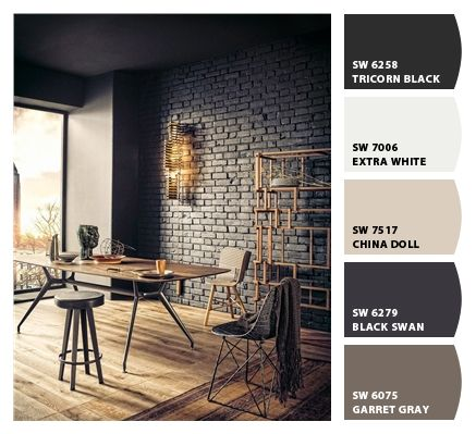 Paint Colors From Chip It By Sherwin Williams Painted Brick