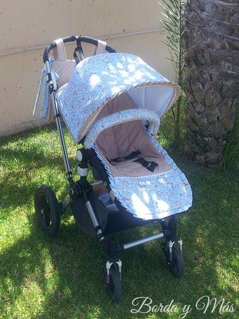 Funda verano para bugaboo camaleon colchonetas para for Fundas silla bugaboo camaleon