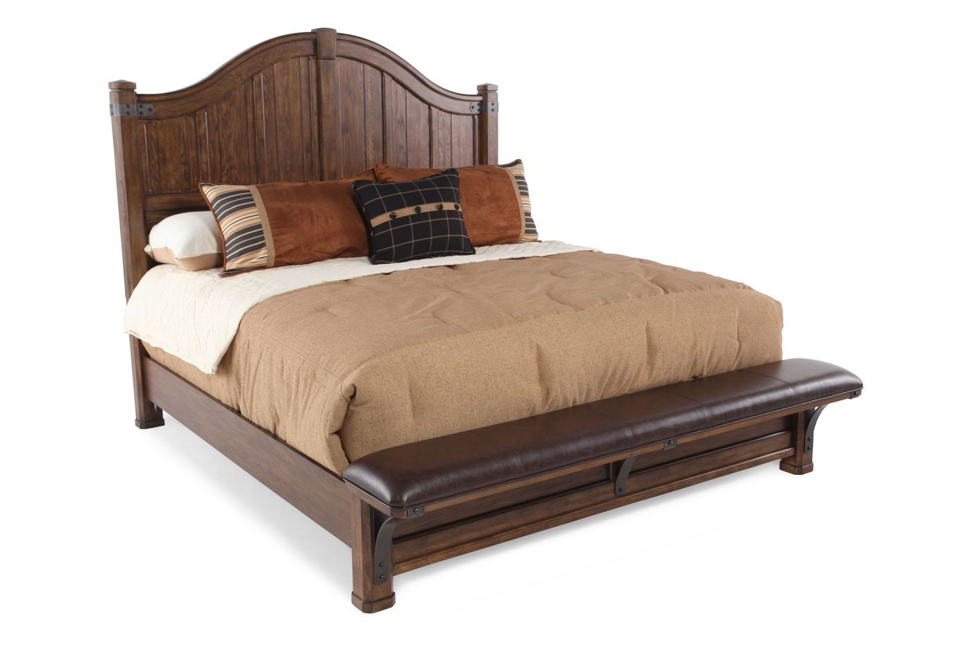 Best Pulaski Heartland Falls Bed Mathis Brothers Furniture 400 x 300