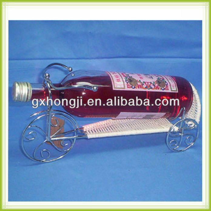 Alambre de artesanía botella de vino porta vasos | arte ...