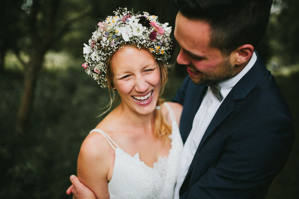 Wedding portraits in the woods - A Tale of two Hearts