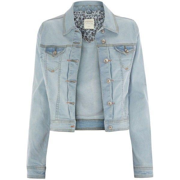 Denim Jacket ($28) ❤ liked on Polyvore