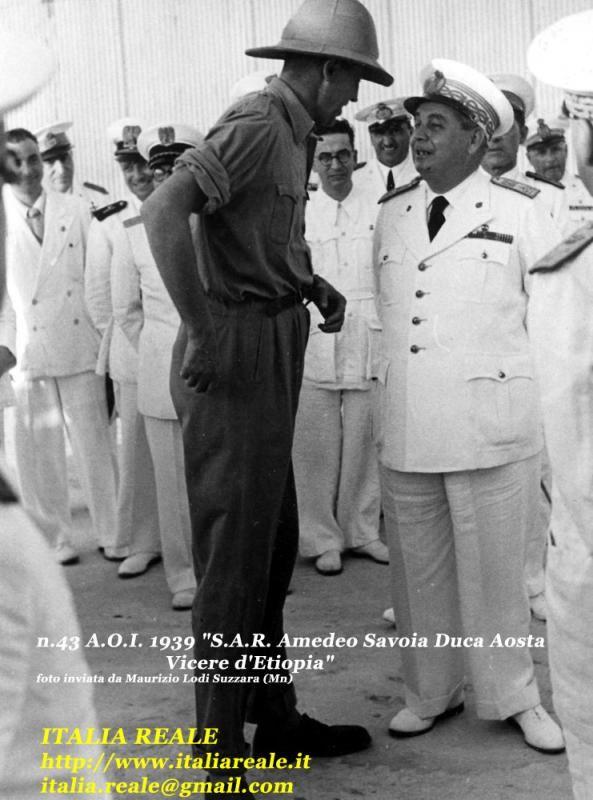 Amedeo di #Savoia Duca d'Aosta in Etiopia | Archivio di Foto di #Italia #Reale