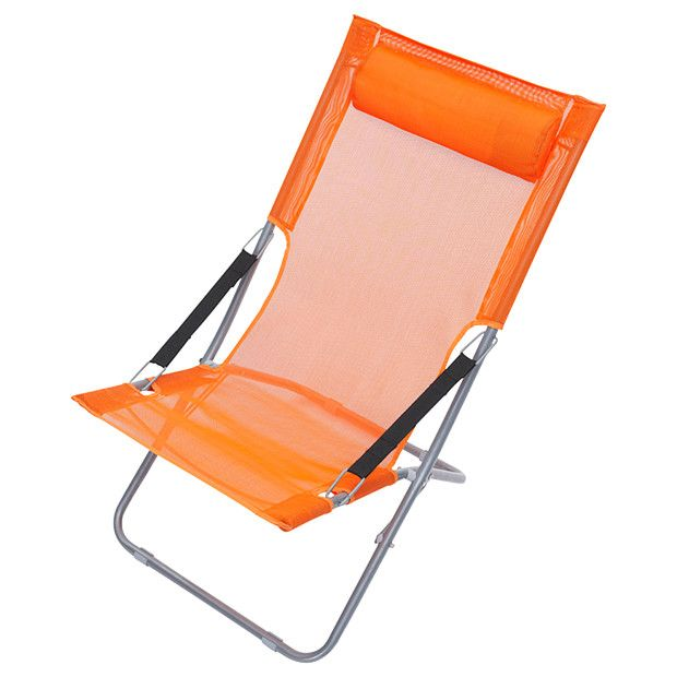 Foldable Beach Chair Orange Now 27 Was 39 Beach Chairs Chair Outdoor Chairs