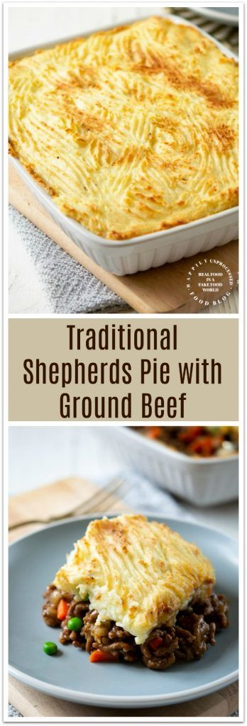 Traditional Shepherd's Pie with Ground Beef images