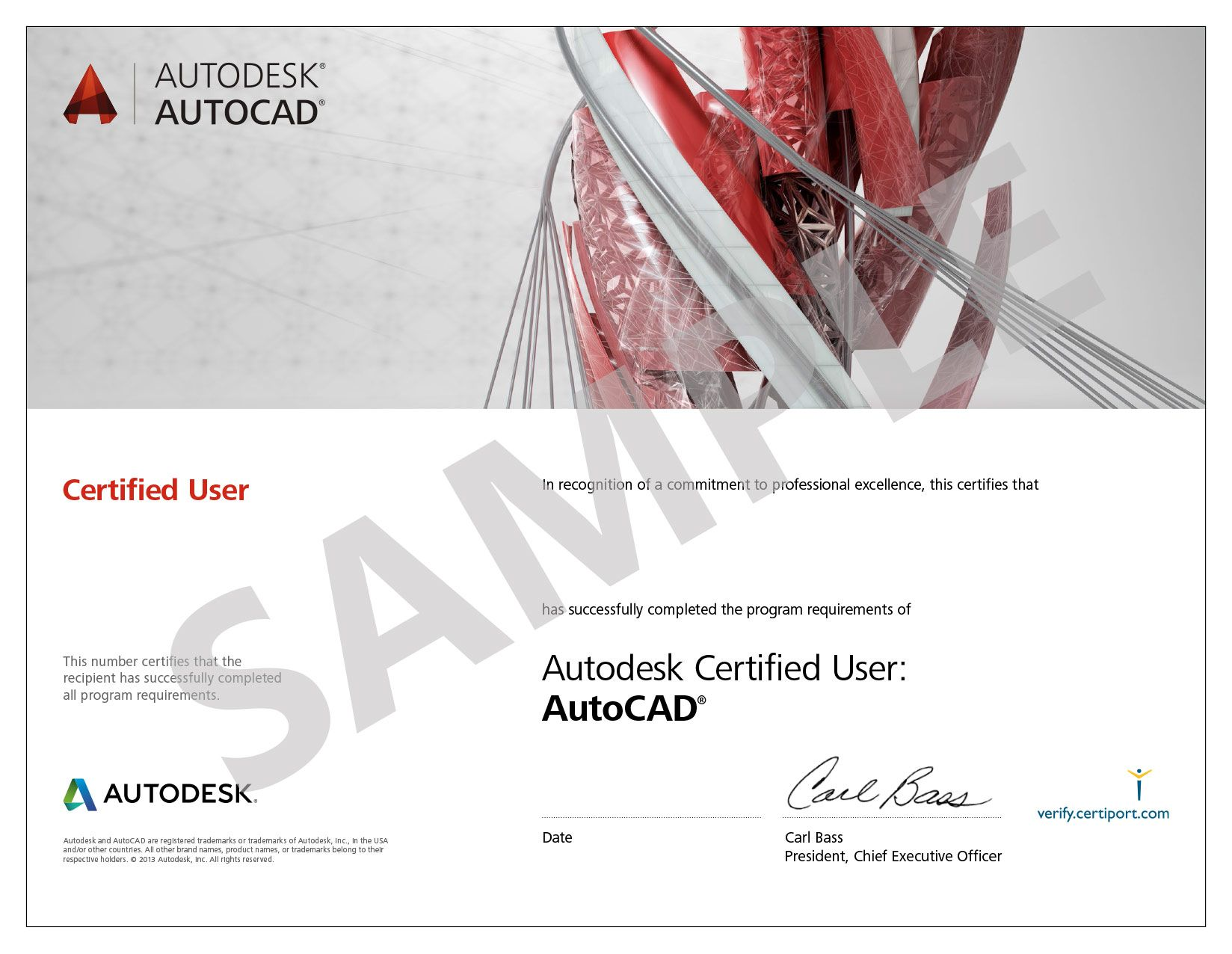 Get International Certification From Autodesk In Autocad Learn From Professionals With Industrial Experience Of 3 Years Batche Autocad Certificate Autodesk