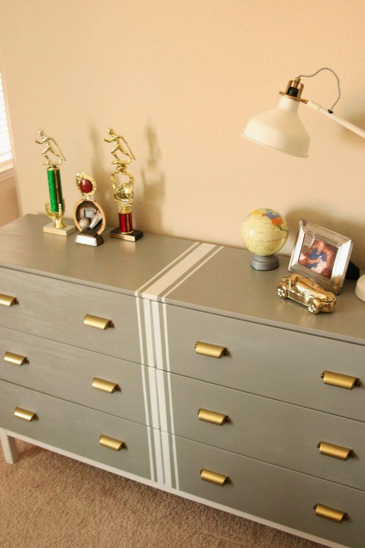 Windgate Lane: Preppy Classic Ikea Dresser- Tarva Hack- painted ...