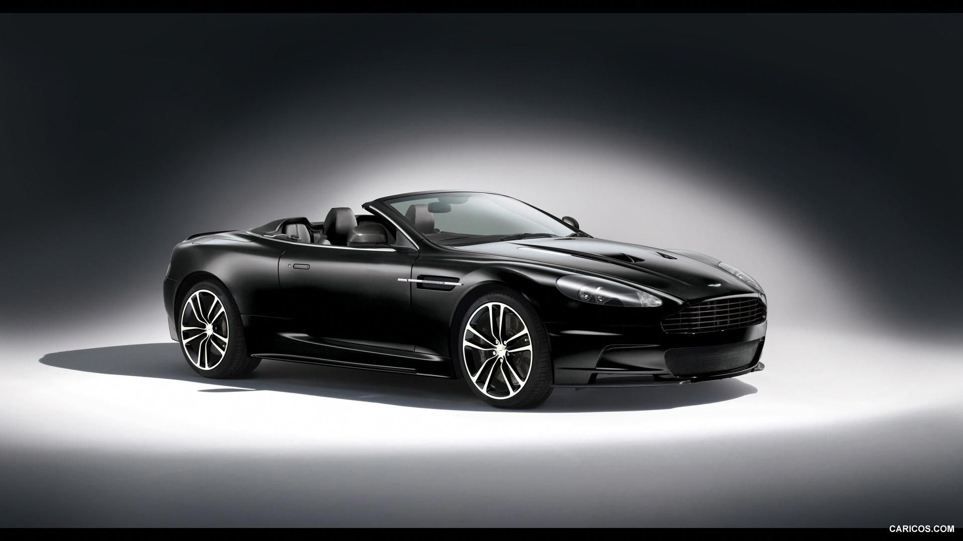 2011 Aston Martin Dbs Carbon Edition Volante Black Front