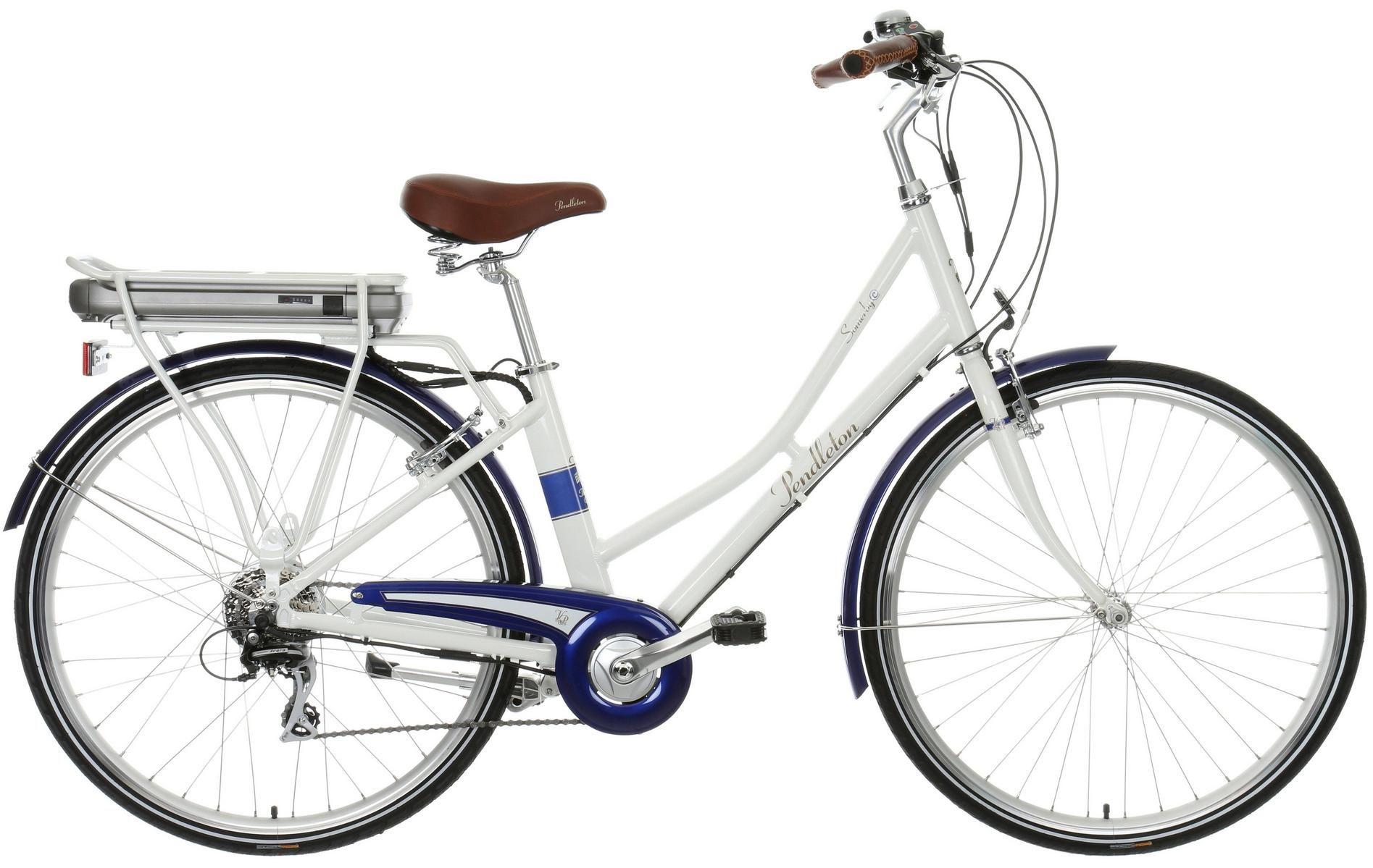Pendleton Somerby Electric Bike White Best Electric Bikes