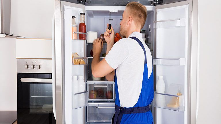 Installing Maintaining And Repairing Your Refrigeration Systems To Reduce Those Numbers O Refrigerator Repair Samsung Refrigerator Repair Refrigerator Service