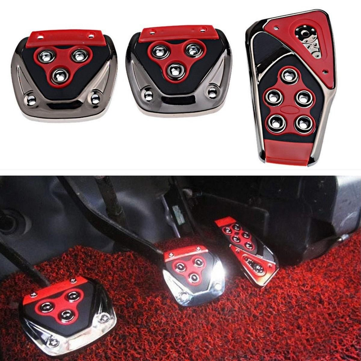 Universal Car Pedal Manual Brake Gas Clutch Accelerator Pedal Cover Car Repair Maintenance From Automobiles Motorcycles On Banggood Com In 2020 Pedal Car Repair And Maintenance