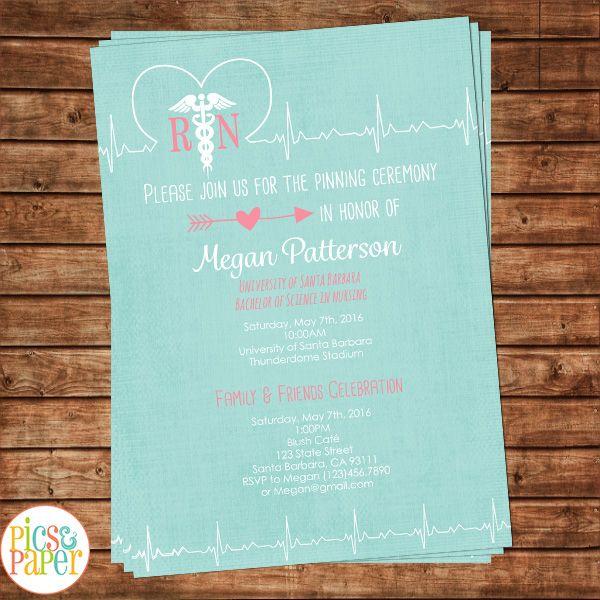 1000 images about Nurse Chalkboard – Nurse Graduation Invitations