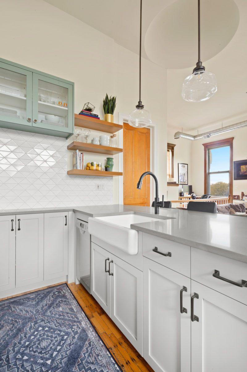 The Balanced Backsplash Fireclay Tile White Kitchen Design Brick Kitchen White Kitchen Tiles