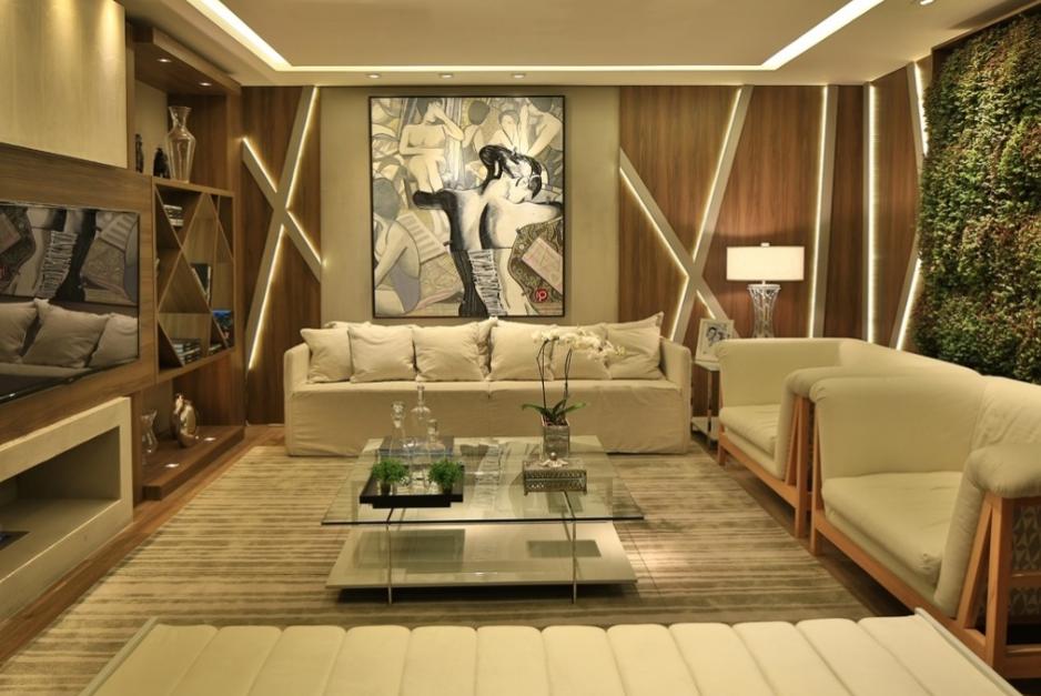 Blog Decoracao Sala De Tv ~  Salas de TV – veja 30 modelos lindos e dicas decoração!  SALA TV